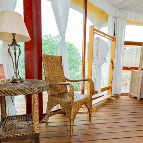 Vista interior habitación - Eco del Mar