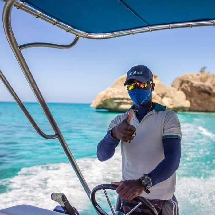 Excursiones - Bahía de las Águilas - Eco del Mar